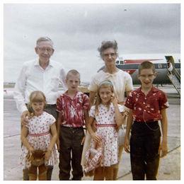 Kelley and grandkids