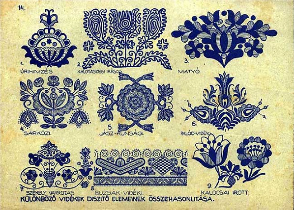 Hungarian Folk Motifs