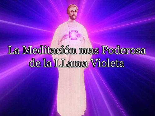 La Mas Poderosa Meditación de La Llama Violeta