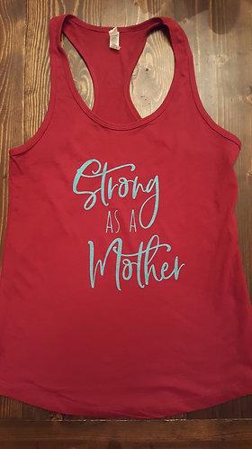 Strong as a Mother tank - Scarlett