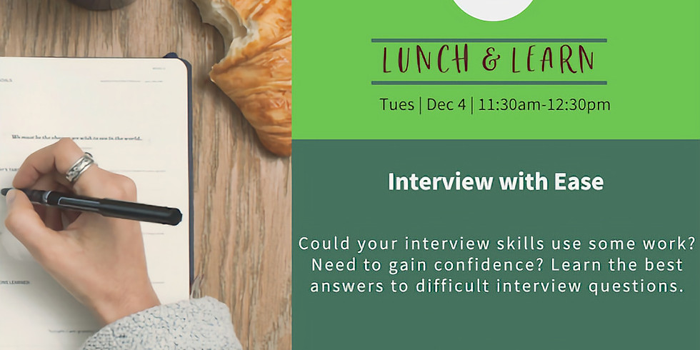 Lunch&Learn: Interview with Ease