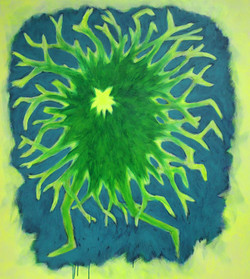 Acrylic on canvas 135x150 cm 2020