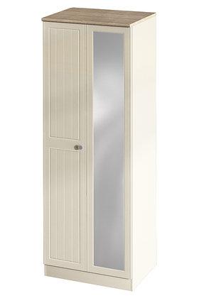 "Tall 2ft 6"" Plain Mirror Robe"