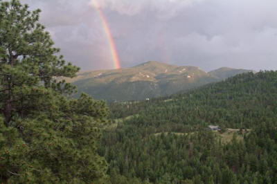 Rainbow on Crosier Mt