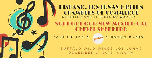 HCVC supports our New Mexico gal Cheve 1