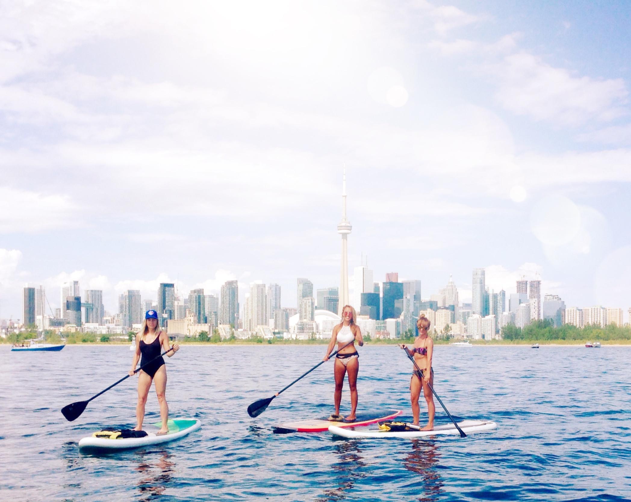 Toronto Island Paddle Tour