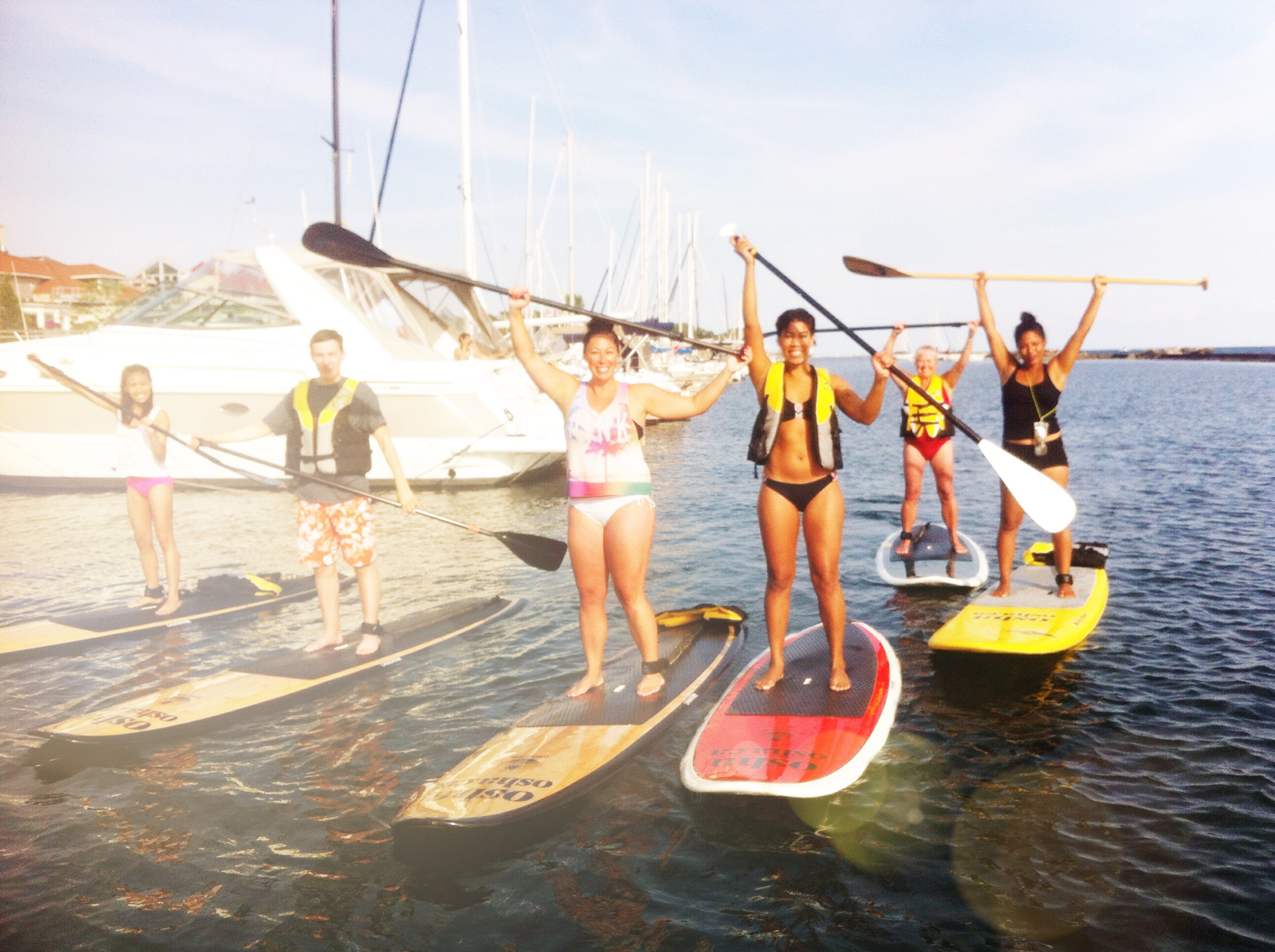 SUP Social X 4 sessions JULY