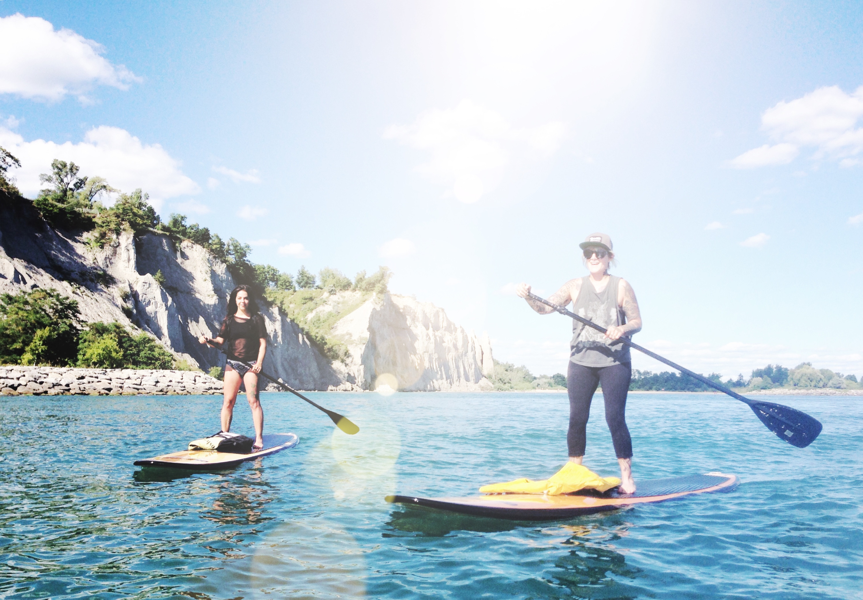 Cathedral Bluffs Paddle Tour