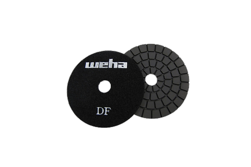 "Weha 4"" Ultra Buff Black Diamond Polishing Pad"