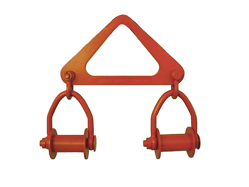 Sling Yoke with Shackles & Rollers