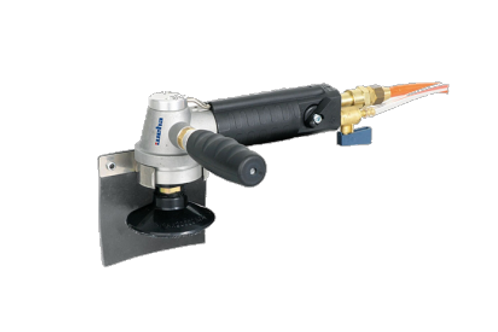Weha Air Polisher, Side Exhaust, With Water Feed