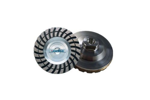 "WEHA 4"" ALUMINUM TURBO DIAMOND CUP WHEEL"