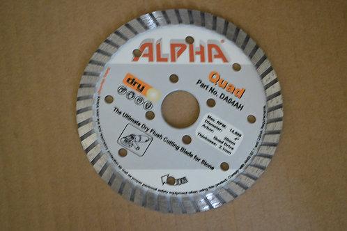 Alpha Quad Segmented Blade