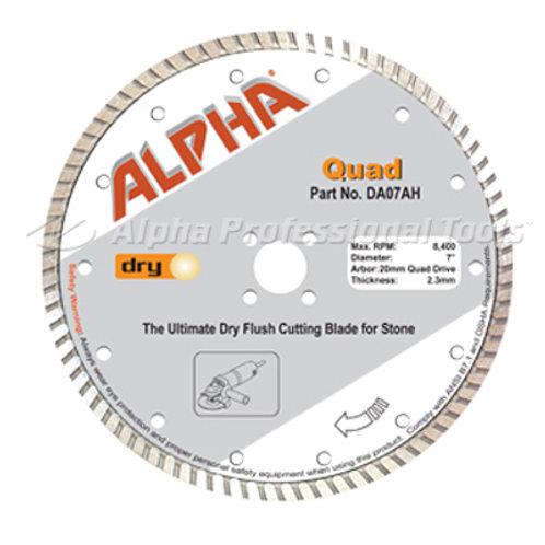 Alpha Quad Diamond Blade