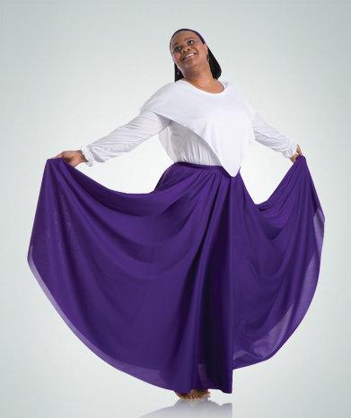 Praise Dance Circle Skirt