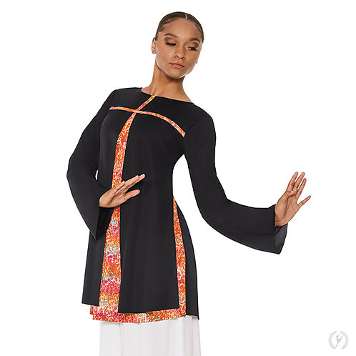 Fire and Rain Split Layer Tunic