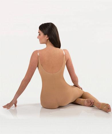 TotalSTRETCH® Camisole Body Stirrup Tights