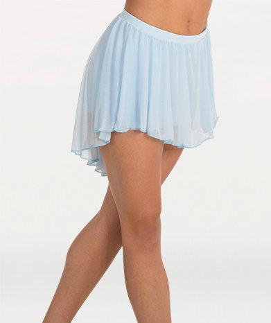 Pull-On Full Bouncy Chiffon Skirt