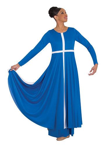Long Sleeve Cross Dress