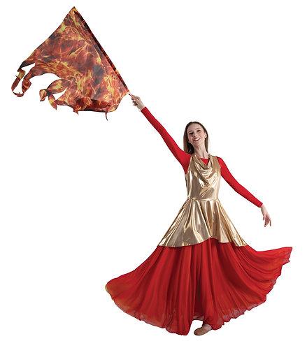 Fire  Flag Flame