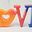 Thumbnail: Freestanding Love Letters