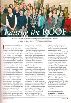 Living South article