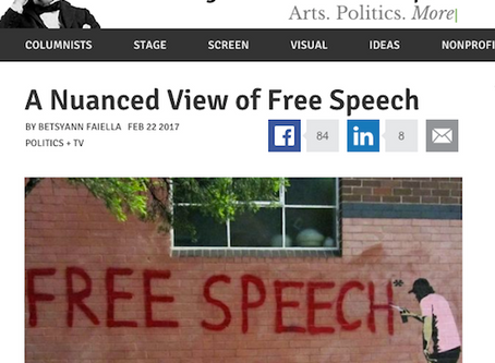 A Nuanced View of Free Speech