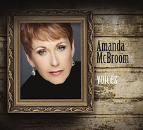 Cover of Amanda McBroom's new CD, voices