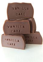 Vanilla cake savons