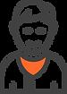 Ícone de um homem representando um usuário que acabou de assinar o sistema odontológico da Clinicorp