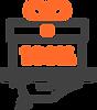 Caixa de presente com o símbolo de desconto ao centro, representando os benefícios do sistema odontológico