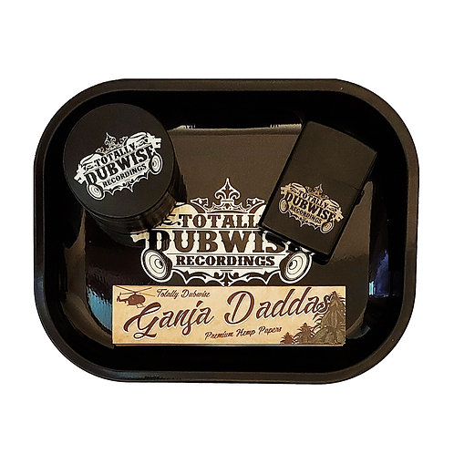 Totally Dubwise Recordings Rolling Tray Set
