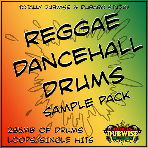 Totally Dubwise & Dub Arc-Reggae Dancehall Drums Sample Pack