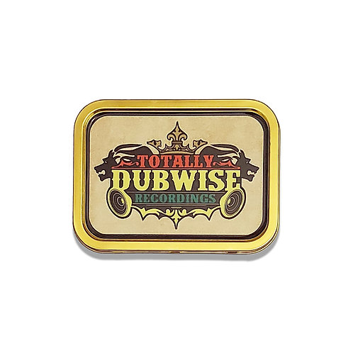 Totally Dubwise Recordings 2 oz Rolling Tin (11 x 8cm)