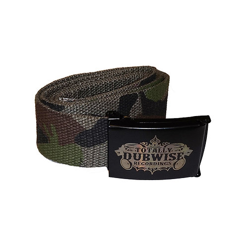 Totally Dubwise Recordings Canvas Web Belt