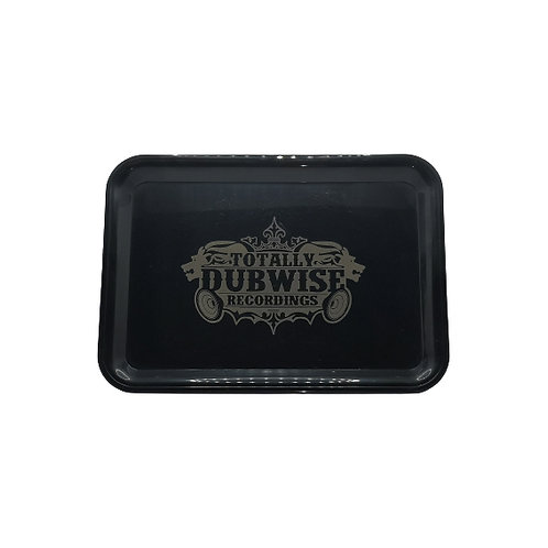 Totally Dubwise Recordings Rolling Tray 15 x 18 cm
