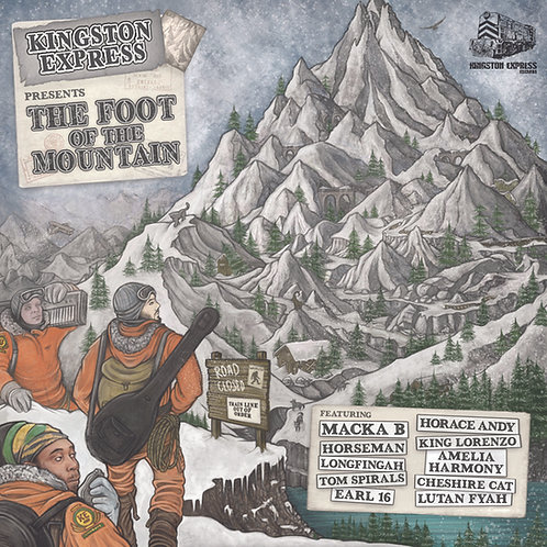 Foot Of The Mountain LP-Kingston Express Records