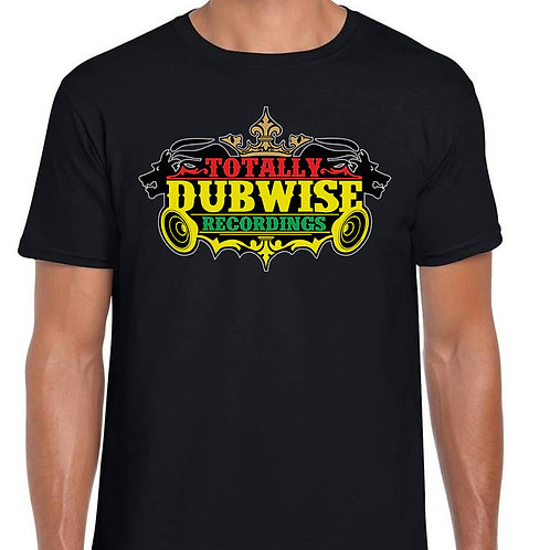 Totally Dubwise Recordings T-Shirt (Traditional Logo)
