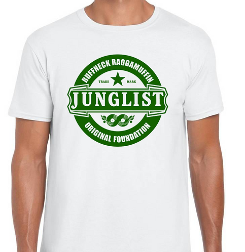 Totally Dubwise-Dubwise-Junglist Print T-Shirt