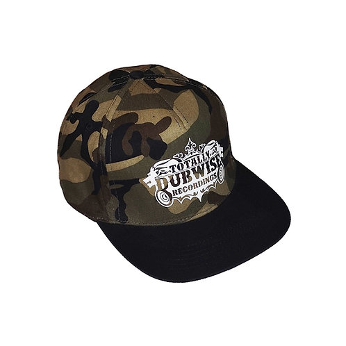 Totally Dubwise Recordings Camo Snap Back (Select Style in options)