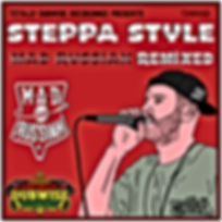Totally Dubwise Recordings 021-Steppa Mad Russian Remixed LP.jp