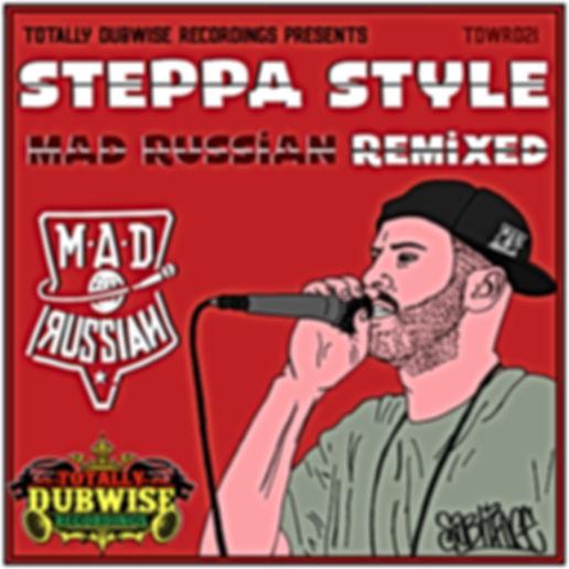 tdwr021-Steppa Mad Russian Remixed LP.jp