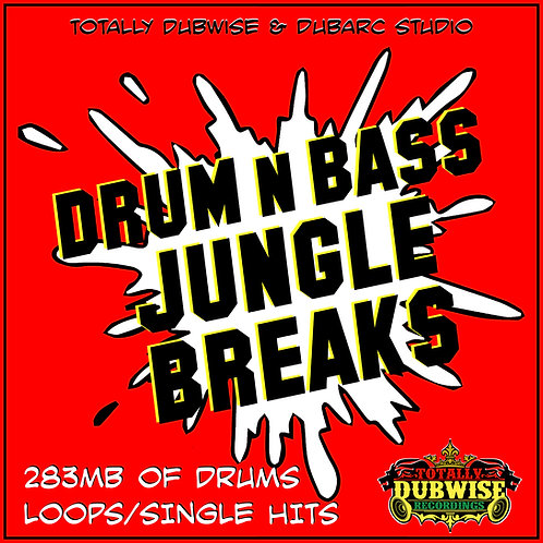 Totally Dubwise & Dub Arc-Drum n Bass Jungle Breaks Sample Pack