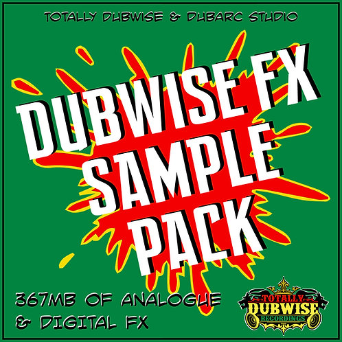 Totally Dubwise & Dub Arc-Dubwise FX Sample Pack