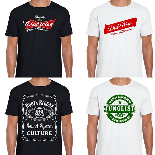 Totally Dubwise Recordings Dubwise T-Shirt Selection Pack