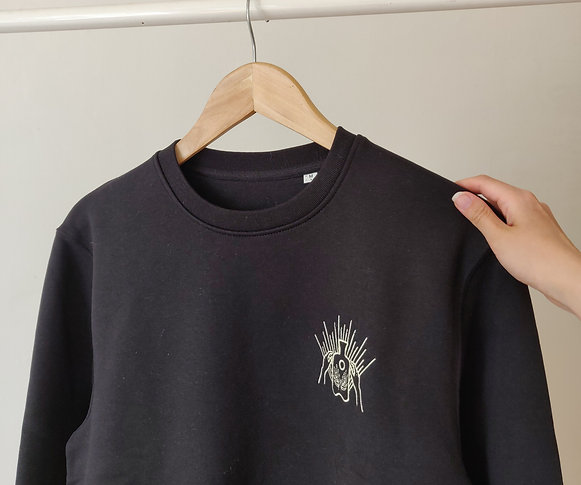 Black Sweatshirt x Sungaze Studio