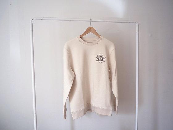 Natural Raw Sweatshirt x Sungaze Studio