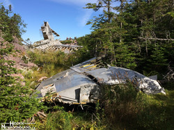 Burgoynes Cove Crash Site
