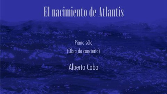 The Birth of Atlantis · Piano Score