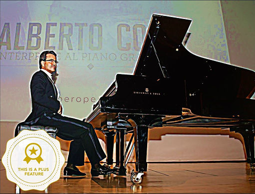 Alberto Cobo at Theater Duke of Pastrana